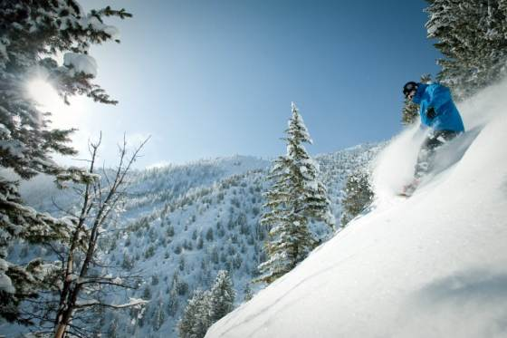 snowboarding Panorama Mountain Village