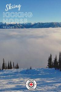 Skiing at Kicking Horse Resort