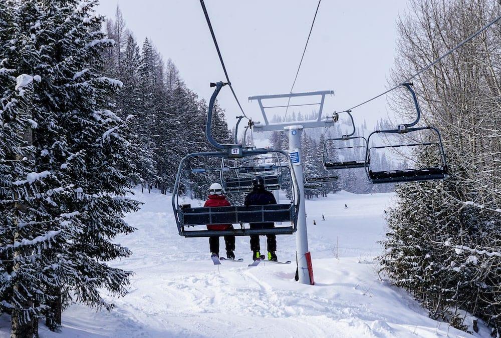 Skiing Fernie BC