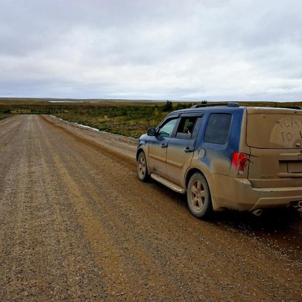 driving the tuktoyaktuk highway