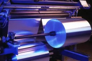 Aluminium-Folien Produktion