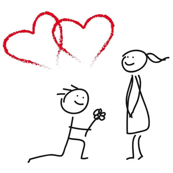 Hochzeitsantrag  Vorlagen und Formulare
