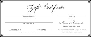 """Search Results for """"Balnk Gift Certificates"""""""