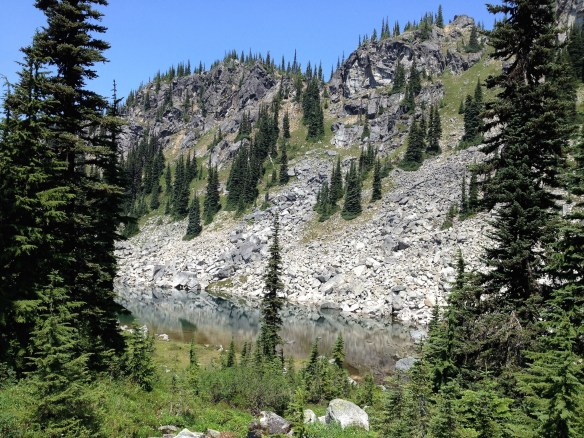 Josephine and Chain Lakes via Pacific Crest Trail and Icicle