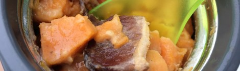 Smoky Bacon Sweet Potatoes