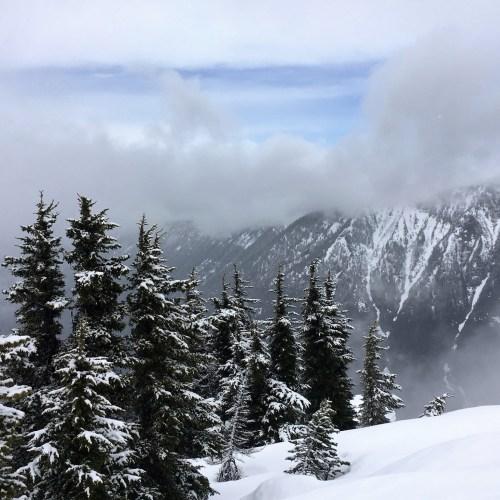Stevens Pass scramble Mountaineers