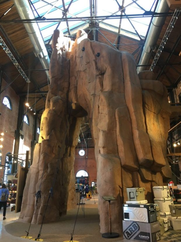 REI Downtown Denver Colorado #travel #layover #glutenfree #outdoors