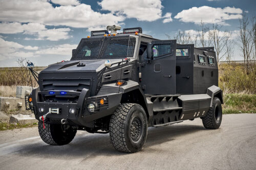 INKAS Huron APC Armored Vehicles