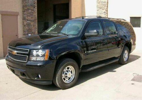 The Chevrolet Suburban