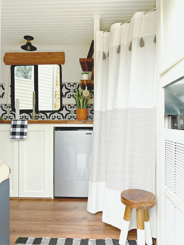 diy rv privacy curtain must love camping
