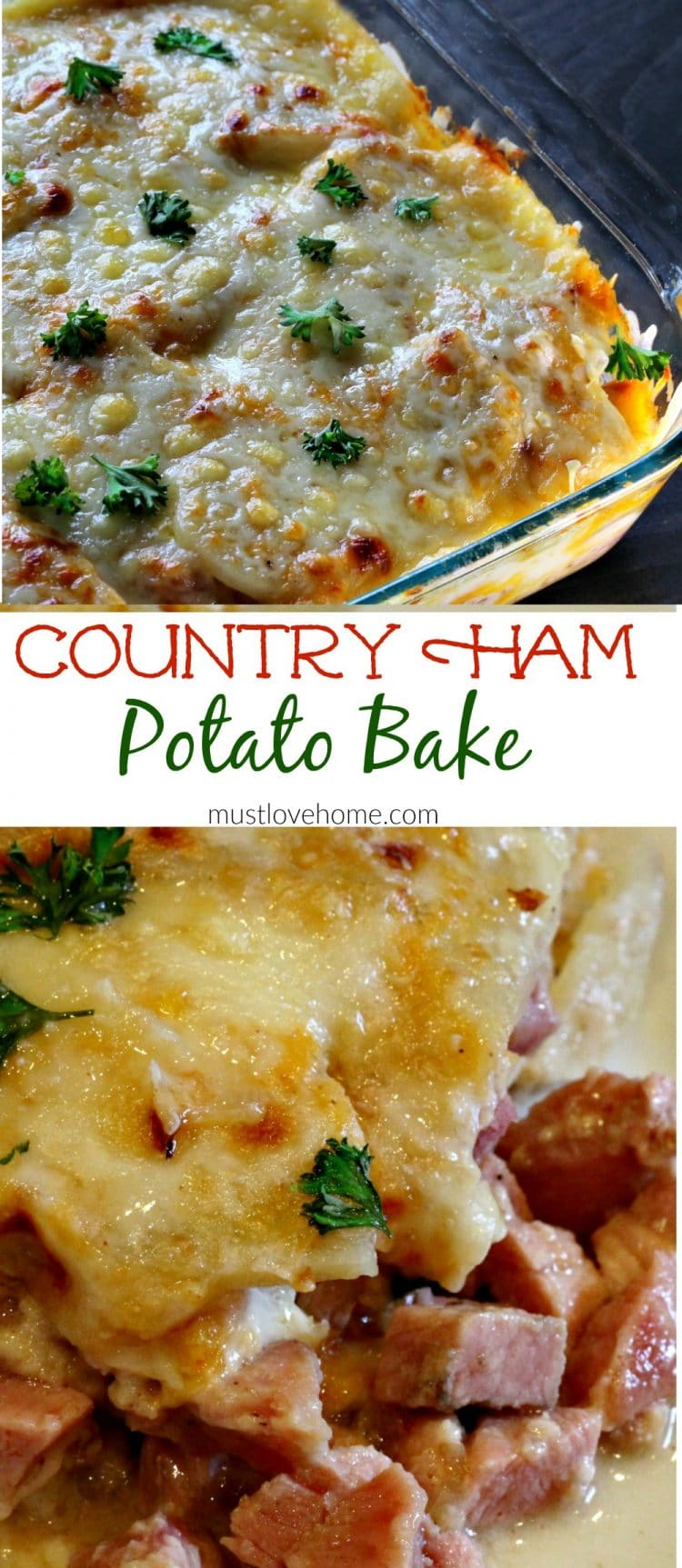 This Recipe Was Adapted From Scalloped Potatoes And Country Ham By Damaris Phillips On Food Network If You Love Leftover Ham Recipes You Might Also Like