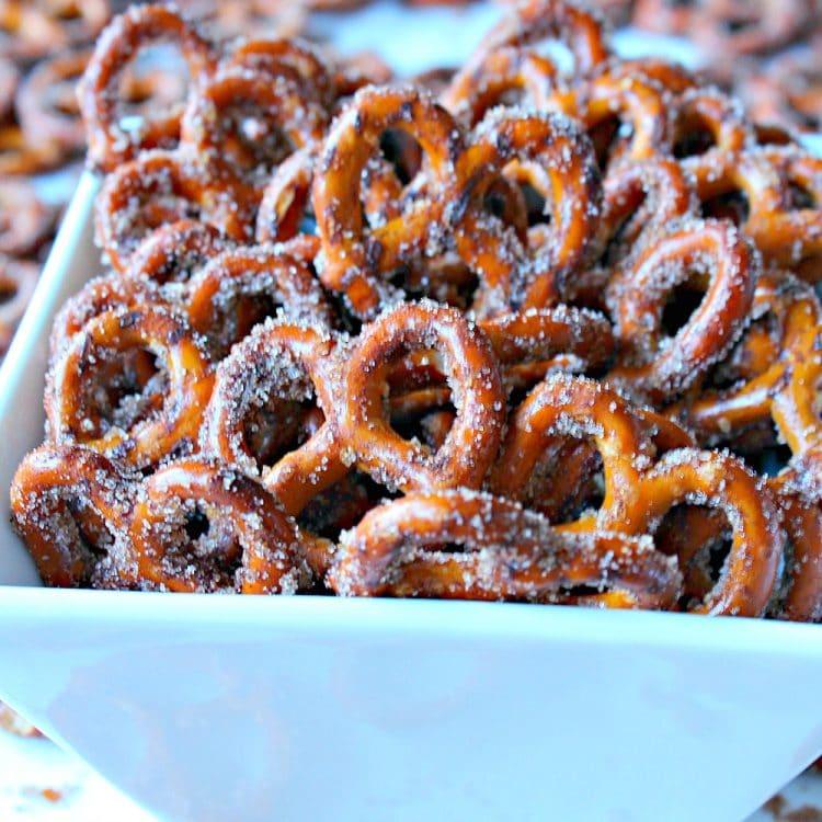 Irresistible Cinnamon Sugar Pretzels