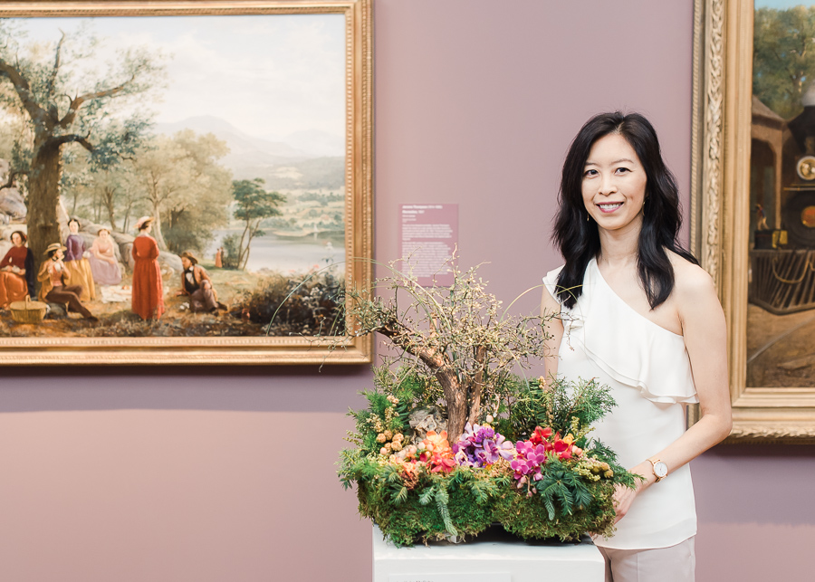 Bouquets to Art 2017 at San Francisco's DeYoung Museum
