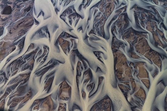 Pattern inNúpsvötn river
