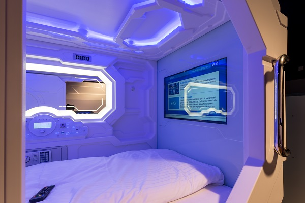 sleeping pods in Iceland