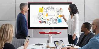 New Jamboard released by Google is a 55-inch