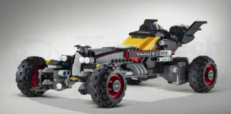 Lego Batmobile, One of the Coolest Cars at the Detroit Auto Show