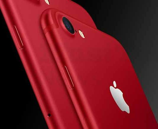 The new special edition Red iPhone 7
