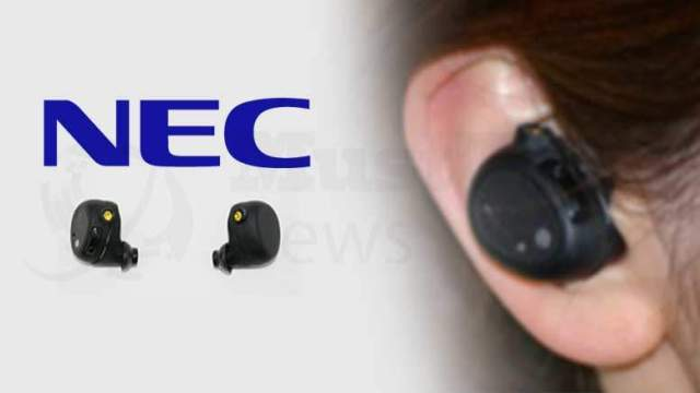 "NEC Improves the Safety and Security of Computing with ""Hearable Device"""