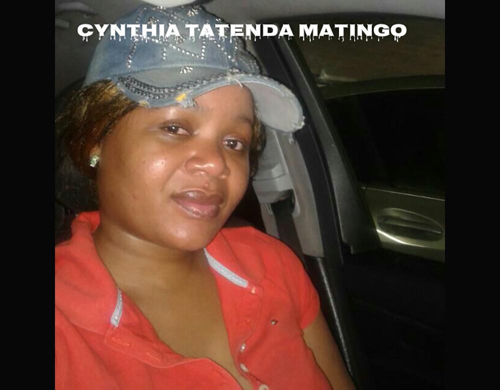Married musvorologist Cynthia Tatenda Matingo with