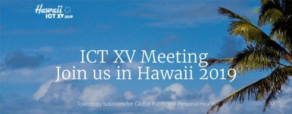 XV International Congress of Toxicology (ICT 2019)