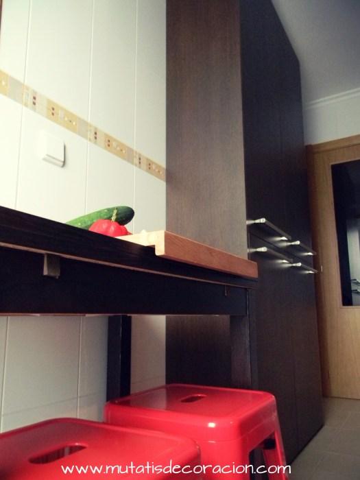 Mini cocina de 8 metros cuadrados