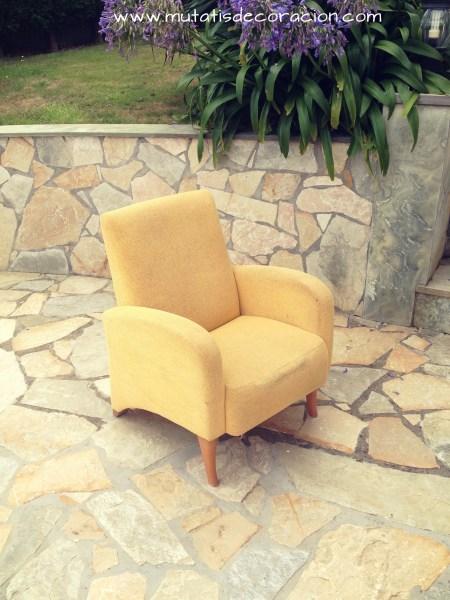 Cómo tapizar un sillón. Tutorial