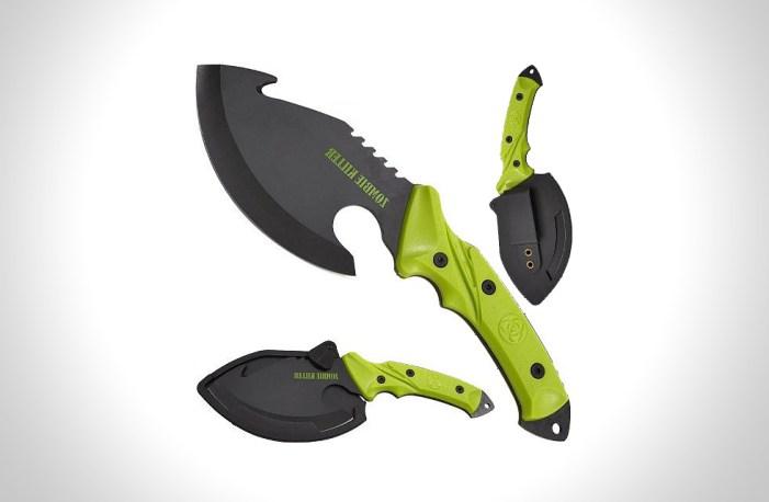 shock awe zombie killer knife