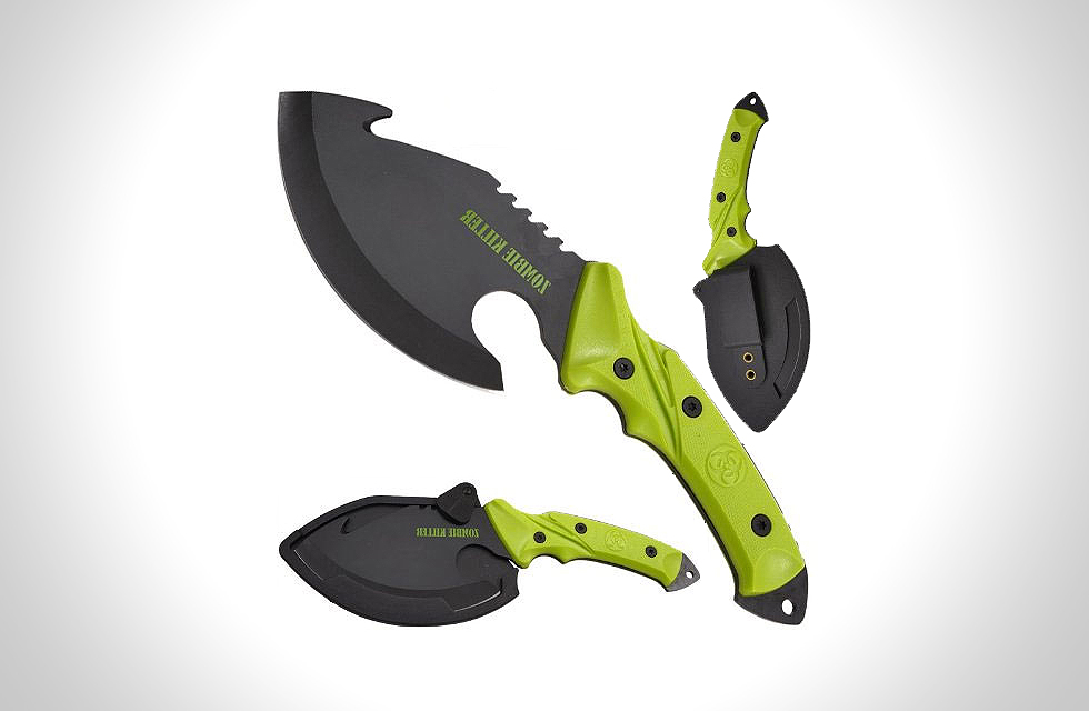 shock awe zombie killer knife