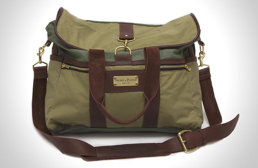 sword and plough messenger bag