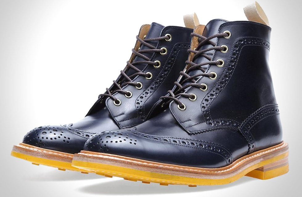 Tricker's X End Hunting Co. Stow Brogue Boot