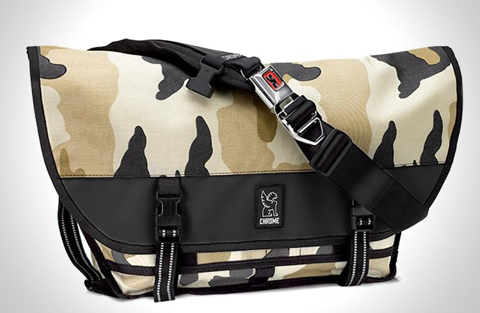Chrome Citizen Reflective Camo Messenger Bag