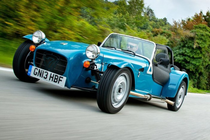 2014 Caterham Seven 160 on the road