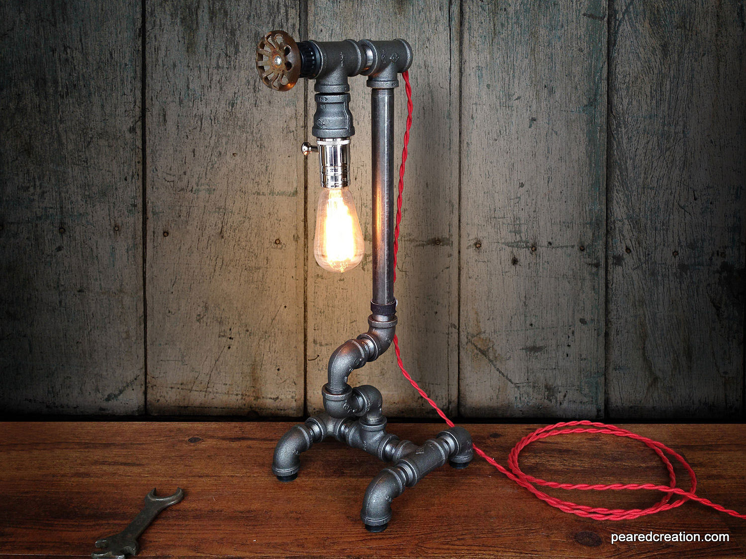 The Industrial Lamp by Pear Creation
