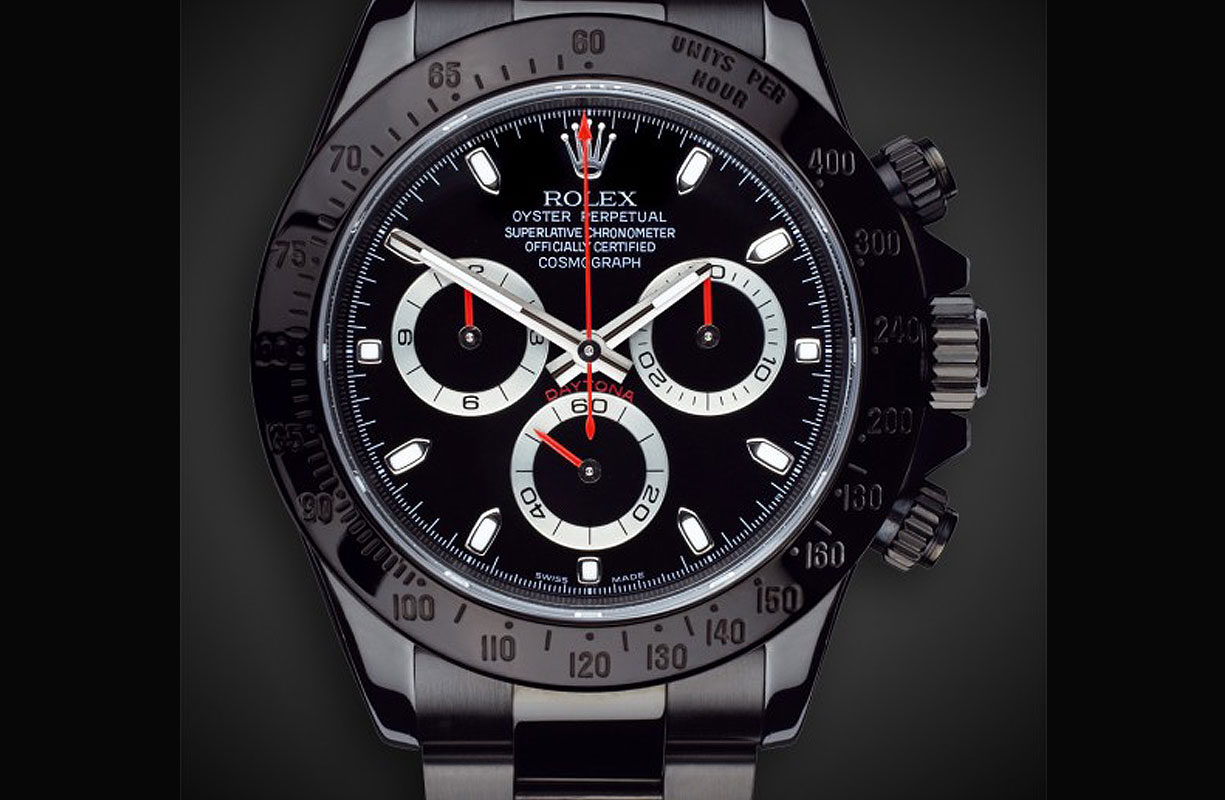 ROLEX DAYTONA STEALTH WATCH BY TITAN BLACK
