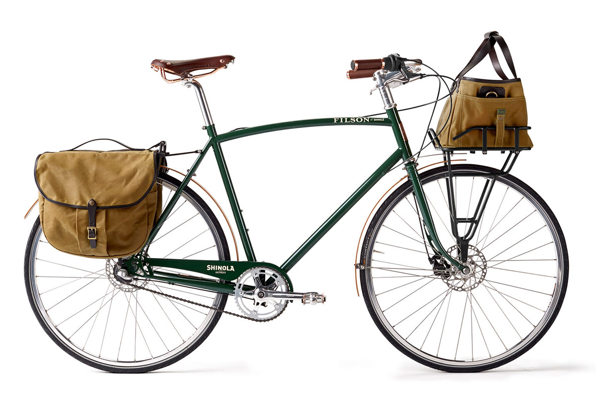 SHINOLA X FILSON BIXBY BICYCLE