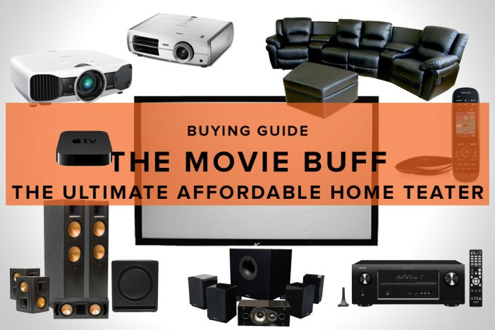 The Ultimate Affordable Home Theater