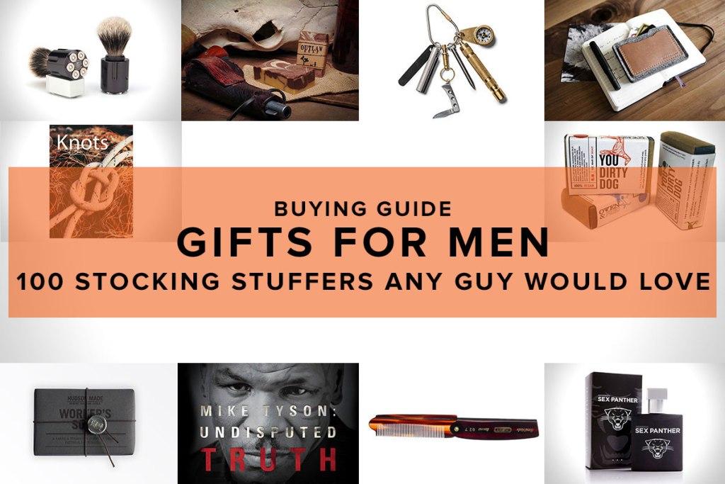 100 Stocking Stuffers For Men