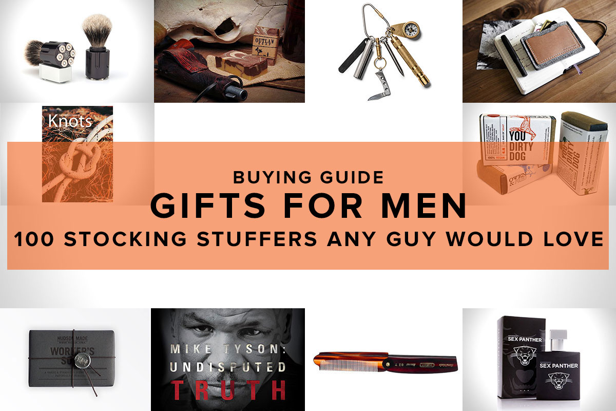 100 Stocking Stuffers For Men