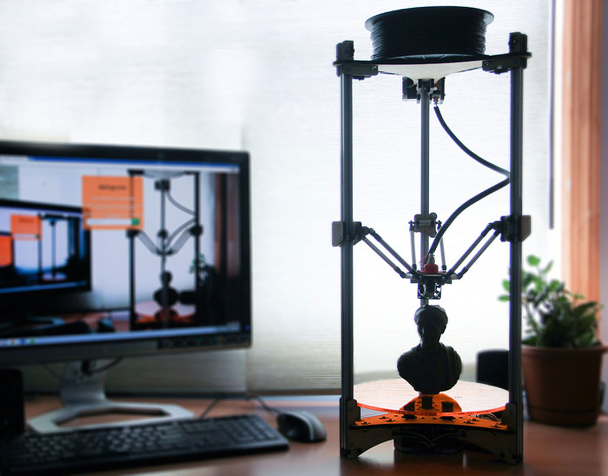 Deltaprintr High Resolution 3D Printer