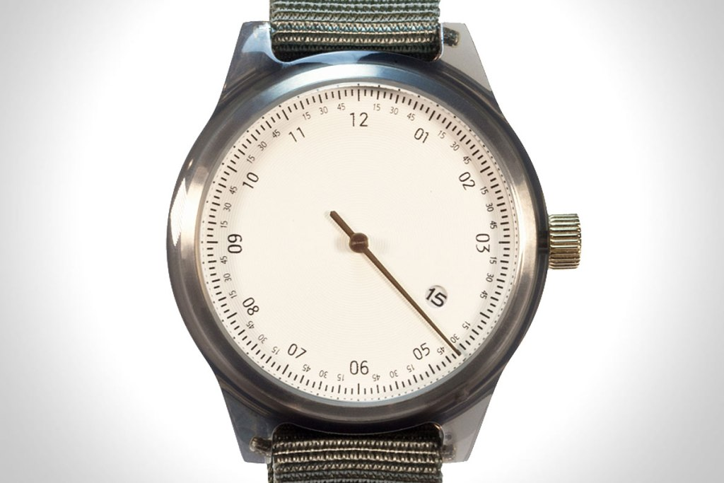 MINUTEMAN ONE-HANDED WATCH