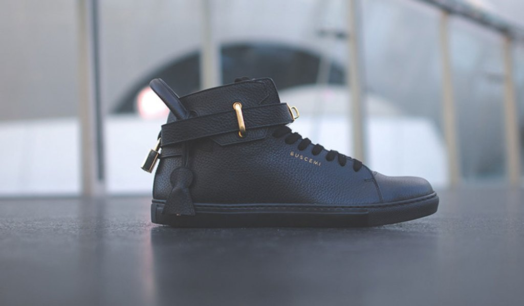 BUSCEMI 100MM SNEAKER BLACK