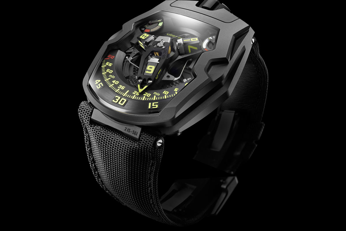 URWERK UR 210Y BLACK HAWK