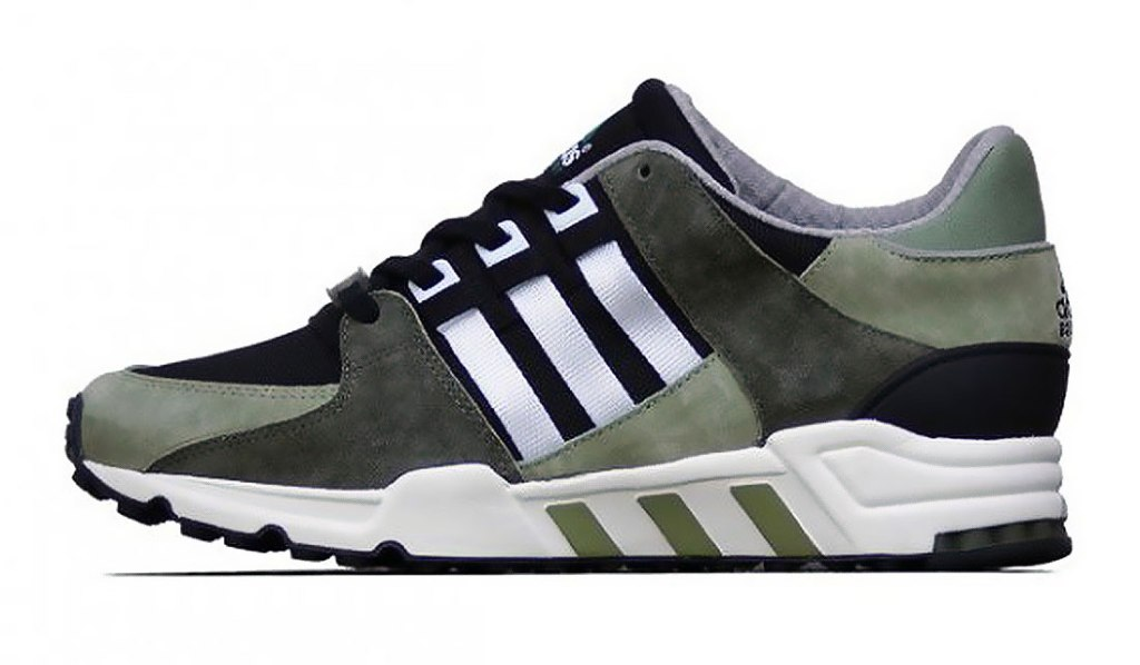 ADIDAS ORIGINALS EQT RUNNING SUPPORT (TENT GREEN/BLACK/WHITE)