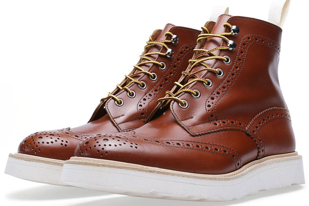 END. X TRICKER'S VIBRAM SOLE STOW BROGUE