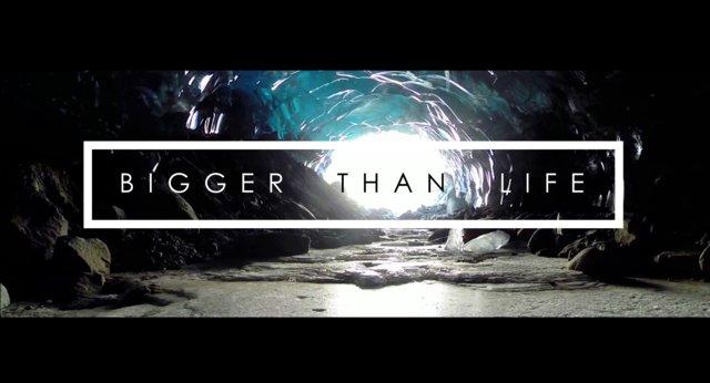 BIGGER THAN LIFE – ICE CAVES