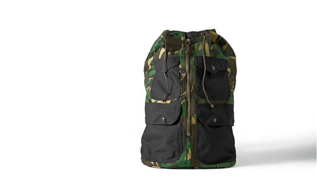 FILSON CAMO DUFFLE BACKPACK
