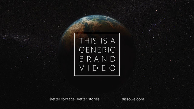 IF YOU THINK MOST ADVERTISING IS CLICHE THEN WATCH 'THIS IS A GENERIC BRAND VIDEO'