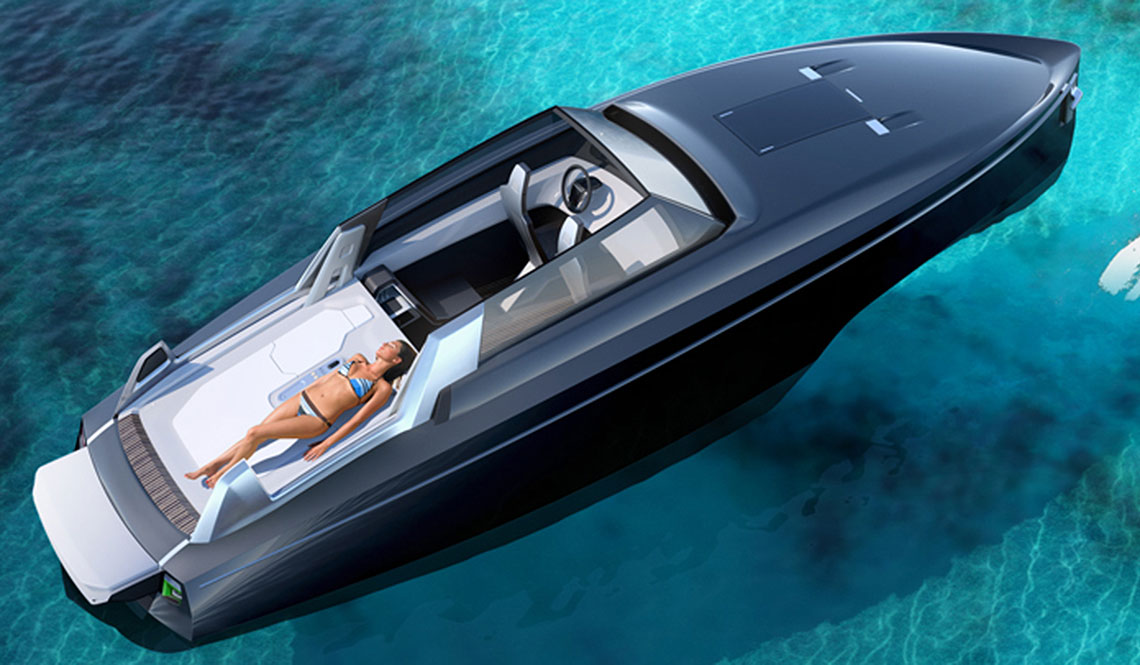 REVERSYS BOAT WANTS TO BE THE FIRST WITH A RETRACTABLE HARDTOP