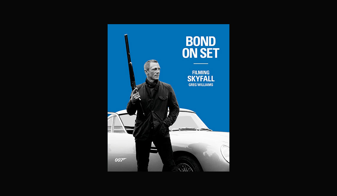Bond On Set Filming of Skyfall
